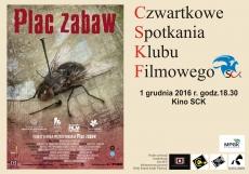 Czwartkowe Spotkania Kubu Filmowego - PLAC ZABAW